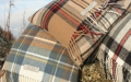 Here is a range of lambswool tartan cushions that are classic, simple and luxurious, handmade in Scotland with 100% pure lambswool that is so soft you cannot put it down.